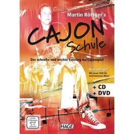HAGE Musikverlag Martin Röttger's Cajon School with CD and DVD