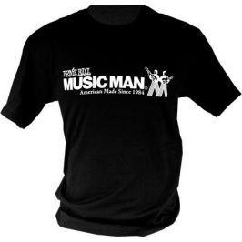 Ernie Ball 4628 Ernie Ball Vintage Logo MM T-Shirt Black XXL
