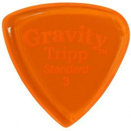 Gravity Picks GTRS3P Tripp Standard 3.0mm Polished Orange