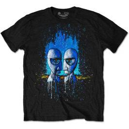Rock Off Pink Floyd Division Bell Drip Mens Black T Shirt: L