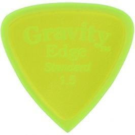 Gravity Picks GEES15P Edge Standard 1.5mm Polished Fluorescent Green