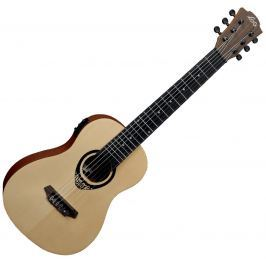 LAG TKT-150E Tiki Uku Mini Guitar Acoustic Electric