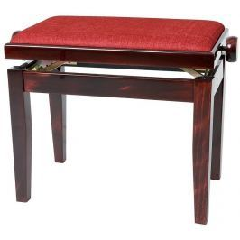 GEWA 130060 Piano Bench Deluxe Mahogany HighGloss