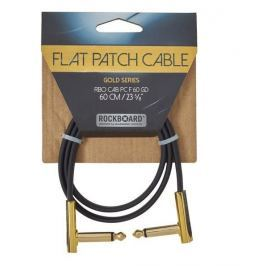 RockBoard Flat Patch Cable Gold 60 cm