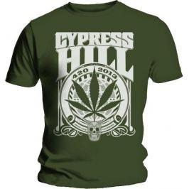 Rock Off Cypress Hill 420 2013 Mens Khaki T Shirt: XL
