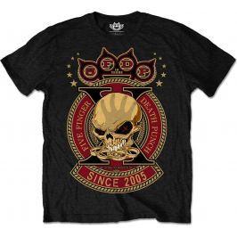 Rock Off FFDP Anniversary X Mens Blk T Shirt: L