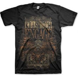 Rock Off Killswitch Engage Army Black Mens T Shirt: XL