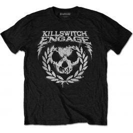 Rock Off Killswitch Skull Spraypaint Mens Black T Shirt: L