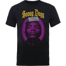 Rock Off Snoop Dogg Beware Of The Dog Mens Black T Shirt: XL