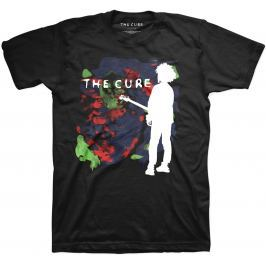 Rock Off The Cure Boys Don't Cry Mens Blk T Shirt: L
