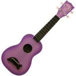 Kala Makala Soprano Ukulele Purple Burst with Non Woven Bag
