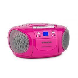 Auna BoomBerry Boom Box Pink