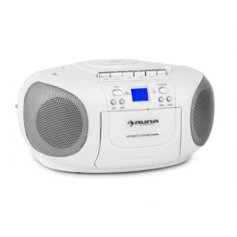 Auna BoomBerry Boom Box White