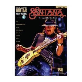 Hal Leonard Guitar Play-Along Volume 21: Santana