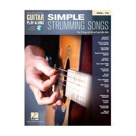 Hal Leonard Guitar Play-Along Volume 74: Simple Strumming Songs