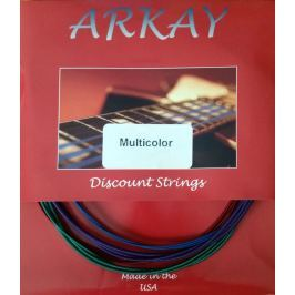Aurora Arkay Standard Electric Guitar Strings 11-50 Multi Colour
