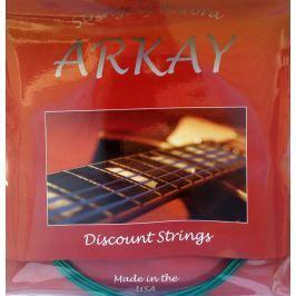 Aurora Arkay Standard Electric Guitar Strings 11-50 Green