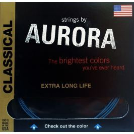Aurora Premium Classical Guitar Strings Extra High Tension Black