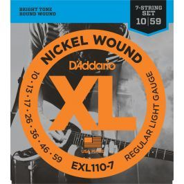 D'Addario EXL 110 7