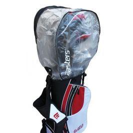 Masters Golf Clear Rain Hood With Zip Black