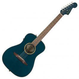 Fender Malibu Classic Cosmic Turquoise w/bag