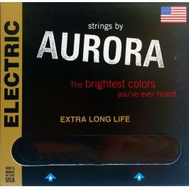 Aurora Premium Electric Guitar Strings 10-46 Clear