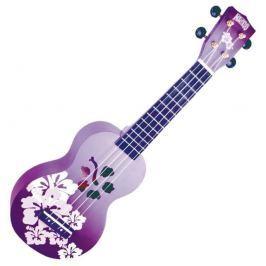 Mahalo Soprano Ukulele Hibiscus Purple Burst (B-Stock) #908252