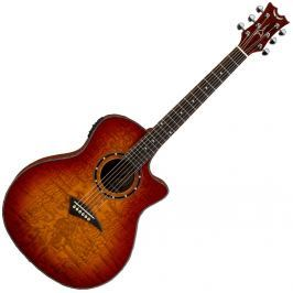 Dean Guitars Exotica Quilt Ash A/E -Trans Cherryburst (B-Stock) #908340
