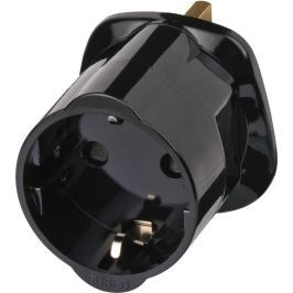 Brennenstuhl 1508533 Travel Adaptor Euro to UK (Earthed)