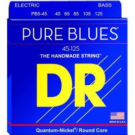 DR Strings PB5-45 Pure Blues Medium 5-String