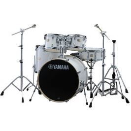 Yamaha Stage Custom Birch Pure White + HW680