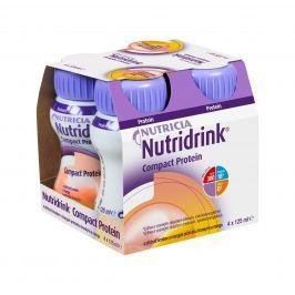 Nutridrink Compact Protein broskev a mango 4x125 ml