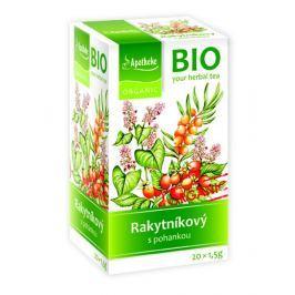 Apotheke BIO Rakytníkový čaj s pohankou nálevové sáčky 20x 1,5 g