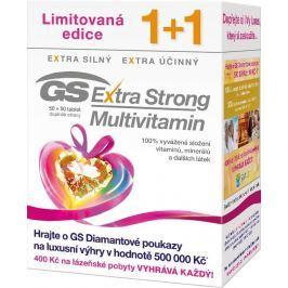 GS Extra Strong Multivitamin 50 + 50 tablet dárek 2017