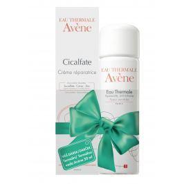 AVENE Cicalfate Obnovující krém 40ml + AVENE Termální voda 50ml