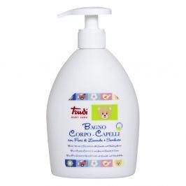 Trudi Dětské koupelové mléko a šampon s levandulí a květem bezinky 500 ml