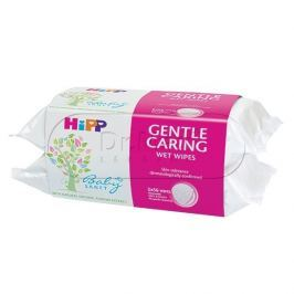HIPP KOSMETIKA Dětské čistící vlhčené ubrousky 2x56ks