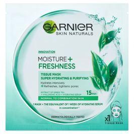 Garnier Moisture + Freshness superhydratační čisticí textilní maska 32g
