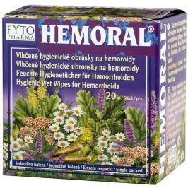 Fytopharma HEMORAL Vlhčené hygienické ubrousky na hemoroidy 20ks