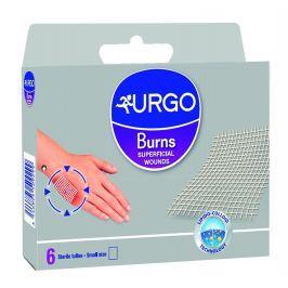 Urgo Burns Na popáleniny 5x5 cm lipidokoloidní síťka 6 ks
