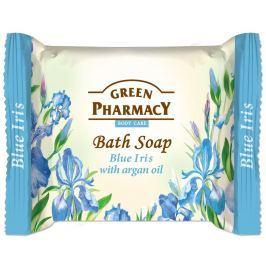 Green Pharmacy Toaletní mýdlo s modrým irisem a arganovým olejem 100g