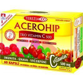 TEREZIA COMPANY  ACEROHIP TRIO Vitamin C 500 mg 60 kapslí