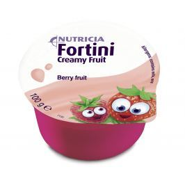Fortini Creamy Fruit Multi Fibre Červené ovoce 4x100g