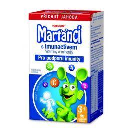 Marťánci Imuno  jahoda 90 tablet