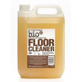 Bio d Čistič na podlahy a parkety s lněným olejem náhradní kanystr 5 l