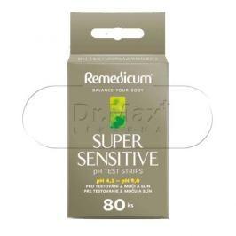 Remedicum SUPER SENSITIVE pH testovací proužky 80 ks