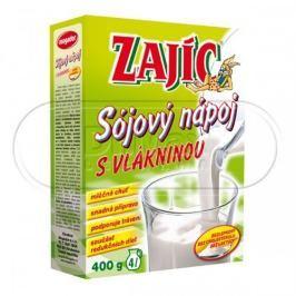 Zajíc Sójový nápoj s vlákninou krabička 400 g