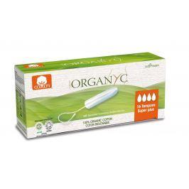 Organyc Menstruační tampony z biobavlny SUPER PLUS 16 ks