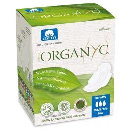 Organyc Menstruační vložky z biobavlny denní 10 ks