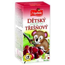 Apotheke Dětský ovocný čaj třešňový nálevové sáčky 20x 2 g